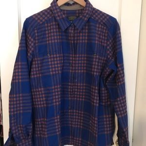 NWT Women's Pendleton wool flannel size XL